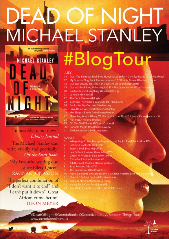 Dead Of Night By Michael Stanley Blog Tour Q A Acrimereadersblog